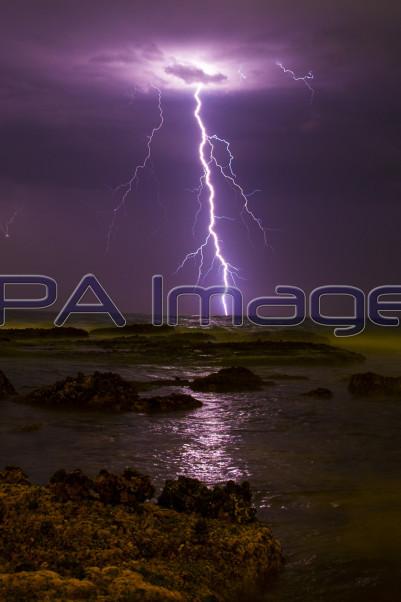 Bondi Beach Lightning Nightscape 021214D-0546.JPG